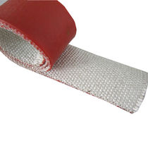 Fiberglass heat wrap / silicone-coated