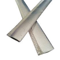 Cable sleeve / fiberglass / heat reflecting / reflective aluminized