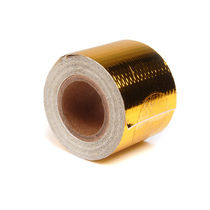 Double-sided adhesive tape / aluminum / for automotive applications / photoluminescent