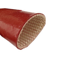 Braided sleeve / tubular / for cables / thermal protection