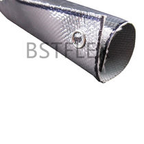 Openable sleeve / for cables / thermal protection / fiberglass