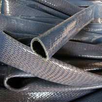 Braided sleeve / for cables / for electrical cables / protection