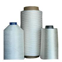 Silica fiber sewing thread