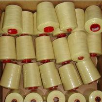 Aramid fiber sewing thread