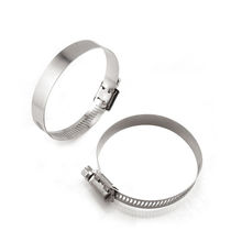Stainless steel hose clamp / worm / smooth
