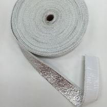 Aluminum adhesive tape / heat-reflective / fiber-reinforced