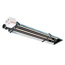 Electric radiant heater / gas / tube
