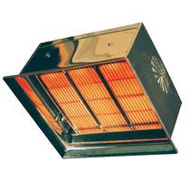 Ceramic radiant panel / gas