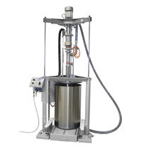 Drum emptying system / for highly viscous products / tub / for cartridges