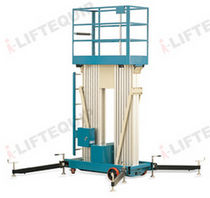 Mobile mast boom lift / electric