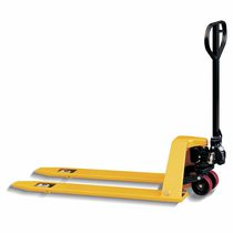Hand pallet truck / multifunction / low-profile