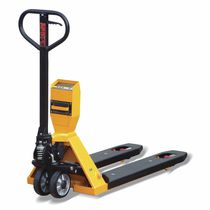 Hand pallet truck / scale / with printer