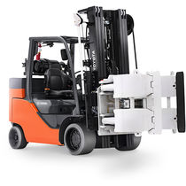 Combustion engine forklift / gas / ride-on / industrial
