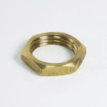 Hexagonal locknut / brass