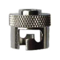 Knurled nut / stainless steel / bayonet lock coupling