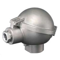 Stainless steel connection head / for temperature sensors