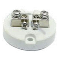 Screw connection terminal block / for temperature sensors