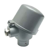 Aluminum connection head / for temperature sensors / IP68