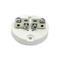 Screw connection terminal block / for temperature sensors / ceramic
