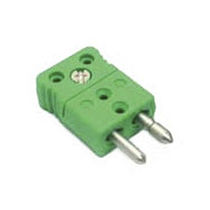 Electrical power supply connector / IEC C7 / male / for thermocouples