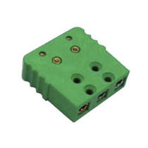 Electrical power supply connector / IEC C7 / female / 3-pole