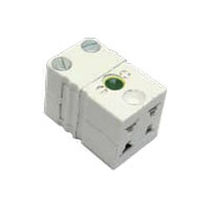 Electrical power supply connector / IEC C7 / female / 4-pole