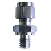 Screw-in fitting / straight / hydraulic / for sensors