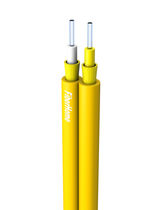 Optical data cable / insulated / tight structure / figure 8