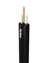 Optical data cable / insulated / figure 8 / for indoor use