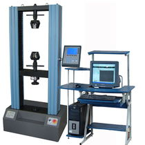 Tension testing machine / vertical / electromechanical