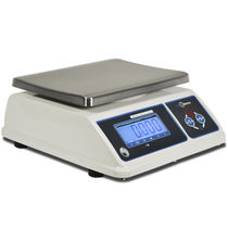 Benchtop scale / with LED display / stainless steel pan / IP65