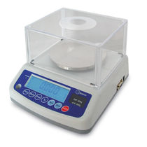 Precision scale / with LCD display / stainless steel pan / industrial