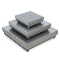Platform scales / with separate indicator / stainless steel pan / IP65