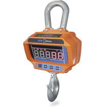 Crane scale with LED display / with rechargeable battery / for the metallurgical industry