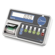 LCD display weight indicator / benchtop / IP54 / with built-in printer