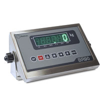 LED display weight indicator / benchtop / IP64 / stainless steel