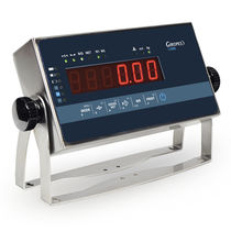 LED display weight indicator / wall-mount / benchtop / IP65