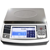 Benchtop scale / precision / digital / with touch screen