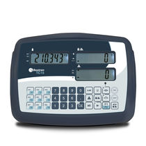 LCD display weight indicator / benchtop / battery-powered