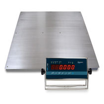 Platform scale / with LED display / stainless steel / IP65