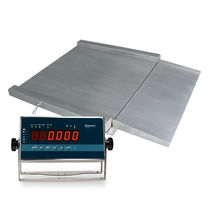 Platform scales / with LED display / stainless steel / IP65
