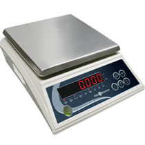 Benchtop scale / with LCD display / with LED display / stainless steel pan