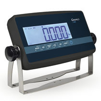 LCD display weight indicator / benchtop / wall-mount / panel-mount