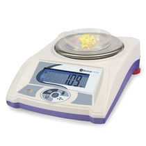 Laboratory scale / with LCD display / stainless steel pan / for the food industry