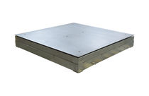 Platform scales / with separate indicator / stainless steel