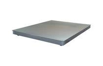 Low-profile platform scales / with separate indicator / stainless steel pan