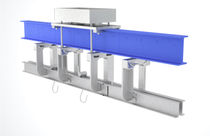 Overhead monorail scales / with separate indicator / stainless steel