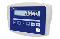 Digital weight indicator / LCD display / panel-mount / waterproof