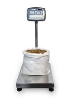 Benchtop scale / with detachable indicator / stainless steel pan / IP65