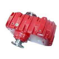 Coaxial gear reducer-multiplier / parallel-shaft / high-power / reversible